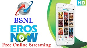 BSNL EROS Now Entertainment bundled with Data STVs Triple Ace 333 and BSNL Chauka 444