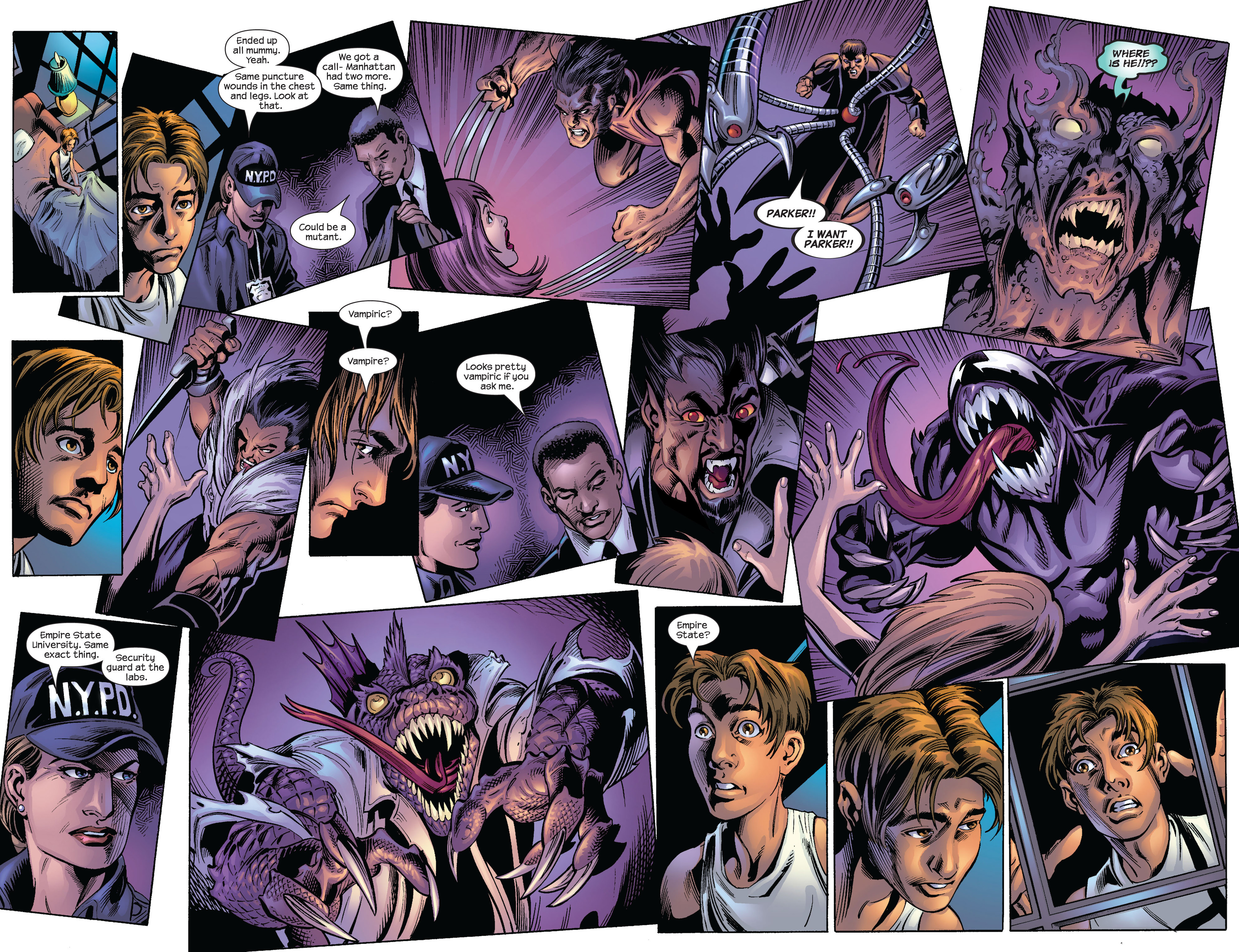 Read online Ultimate Spider-Man (2000) comic -  Issue #63 - 15
