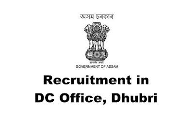 Women Welfare Officer/ District Coordinator Recruitment in Deputy Commissioner Office, Dhubri. Last Date: 08/03/2019