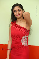 Actress Zahida Sam Latest Stills in Red Long Dress at Badragiri Movie Opening .COM 0053.JPG