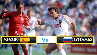 مشاهدة مباراة اسبانيا ضد روسيا بث مباشر اليوم الاحد 1-7-2018 كأس العالم 2018