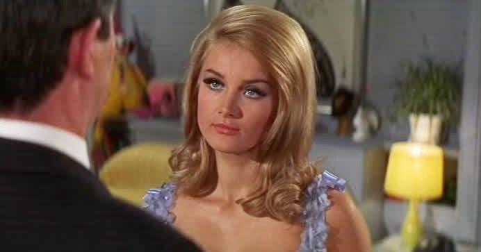 Movie and TV Cast Screencaps: Barbara Bouchet as Miss ...