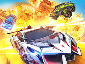 Overload : Multiplayer Battle Car Shooting Mod Apk