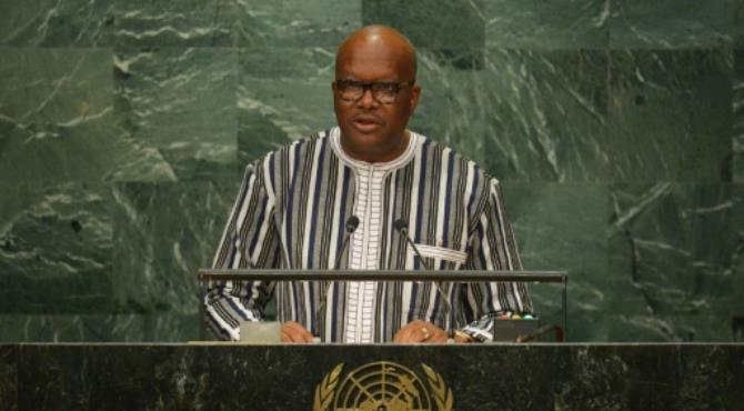 "Roch Marc Christian Kabore, President of Burkina Faso, addresses the 71st session of the United Nations General Assembly at the UN headquarters in New York on September 22, 2016. By Dominick Reuter (AFP). Ouagadougou (AFP) - Burkina Faso, despite suffering Islamist attacks, stands out as a ""model of religious tolerance"", the International Crisis Group said in a report published Thursday.  The report, entitled ""Burkina Faso: Preserving the Religious Balance"", stressed the prevailing tolerance created by a ""deep-rooted"" religious pluralism. This is in sharp contrast to ""the rising tide of religiously motivated violence in West Africa and the Sahel"" region, the Brussels-based NGO said in its report. ""Burkina has never suffered civil war or religious conflict. Muslims, Christians and animists are neighbours, live together and inter-marry,"" according to the report which was presented in the capital Ouagadougou. Nevertheless jihadist attacks in the capital in January left 30 people dead, according to the Burkina government. Al-Qaeda in the Islamic Maghreb claimed it was behind an assault on a top hotel and a cafe, both popular with foreigners, which also left 70 people wounded. Those attacks ""were a shock to both the general public and the ruling class,"" the ICG report said. ""Isolated incidents of verbal aggression against Muslims were reported in the following weeks. They revealed some degree of stigmatisation and reflected concerns that had not been present until then."" Muslims make up 60 percent of the Burkina population in the impoverished West African nation. Nineteen percent are Catholics, 15 percent animists and 4 percent protestant but religion is ""only a secondary badge of identity,"" according to the ICG"