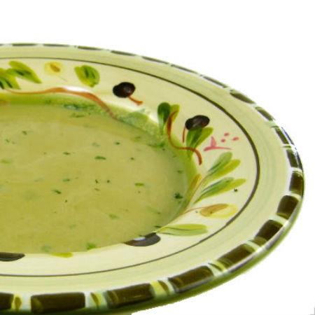 One Perfect Bite: Emeril's Asparagus Soup