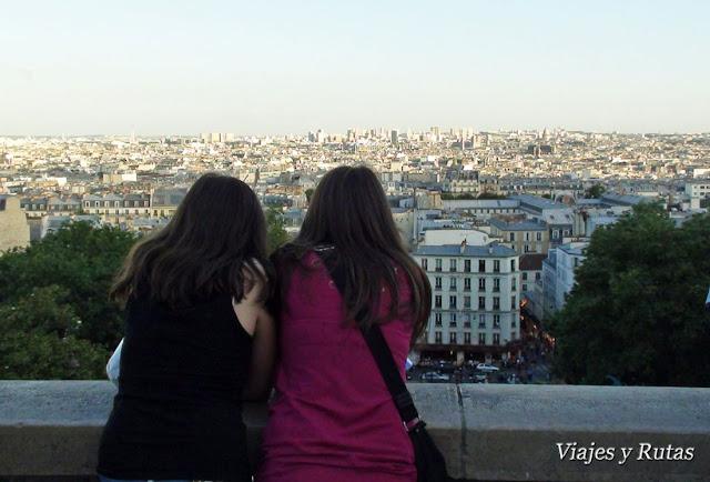 Paris desde Basílica del Sacré Coeur, Paris