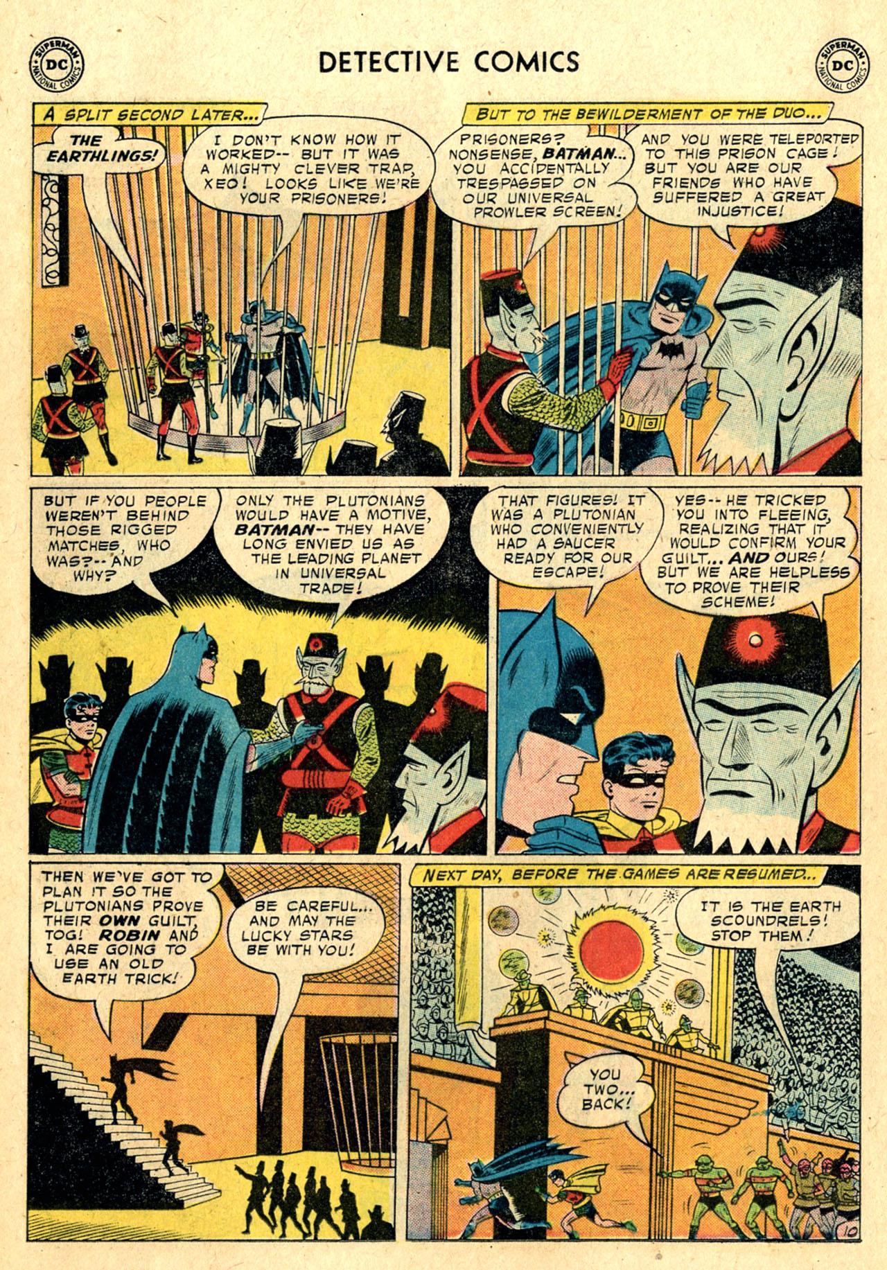 Read online Detective Comics (1937) comic -  Issue #260 - 12