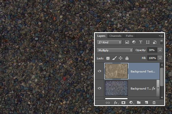 Tạo Hiệu Ứng Chữ Lá Mùa Thu Bằng Photoshop | Bước 3