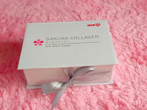 Review : Sakura Collagen Anti Age's Cream