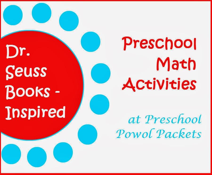 dr seuss songs preschool dr seuss inspired preschool math activities preschool 599