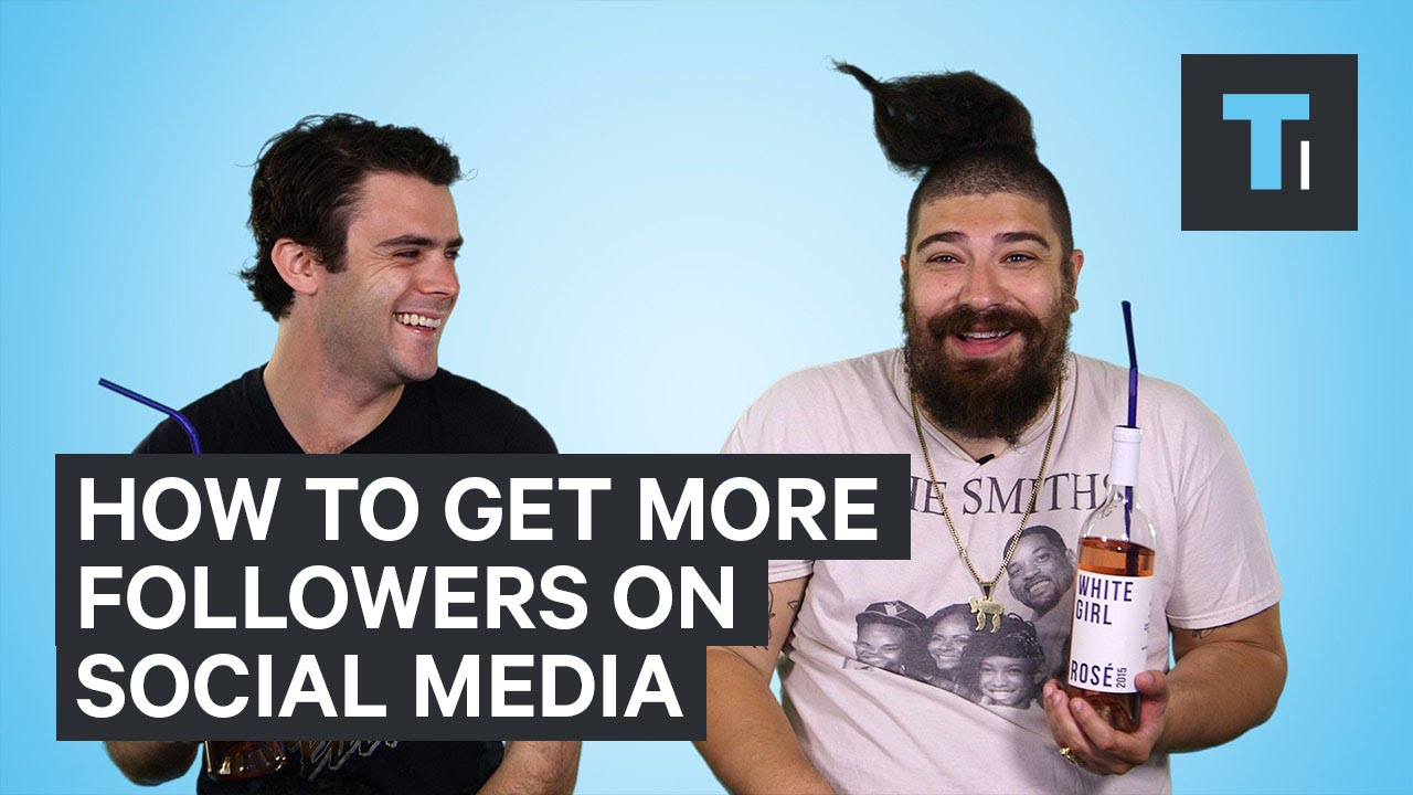 How to get more followers on social media [video]