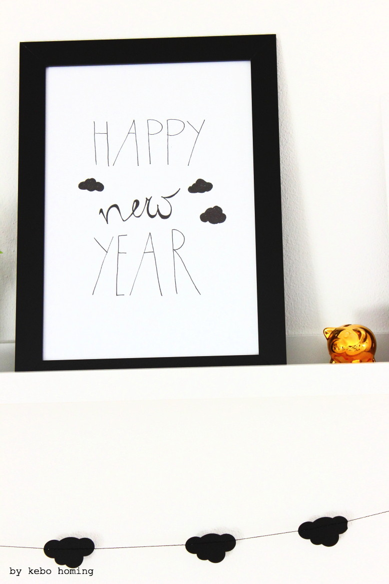 Eine Dekorationsidee für das Neue Jahr, #meinshelfie bei kebo homing, das neue monatliche Blogevent für Dekofreude, Interiorblogger, Blumenfreunde und alle anderen, die mitmachen möchten, das Blogjahr geht in eine neue Runde