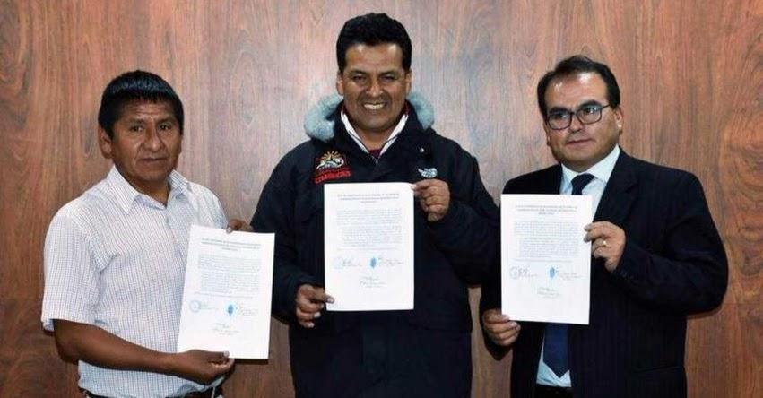 SUTER y DRE Cusco suscriben compromiso de recuperación de labores escolares