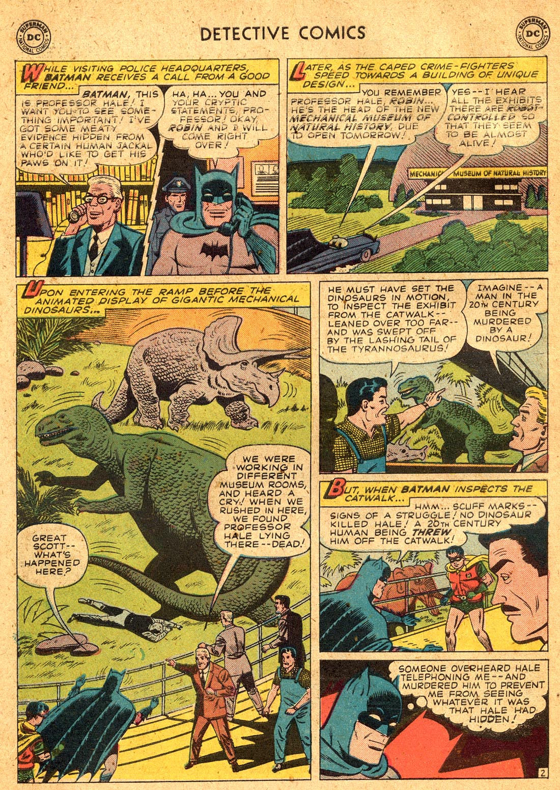 Read online Detective Comics (1937) comic -  Issue #255 - 4