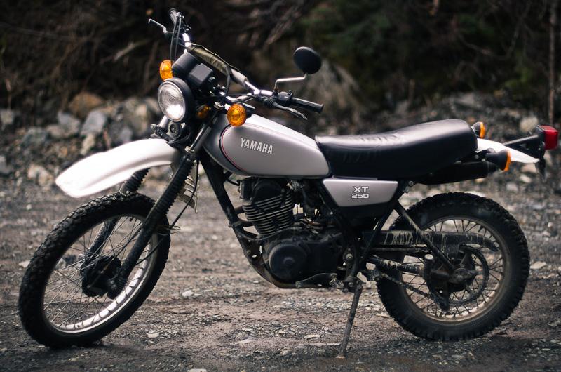 Riding The Usa Yamaha Xt