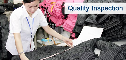 Inspection of Garments Industries