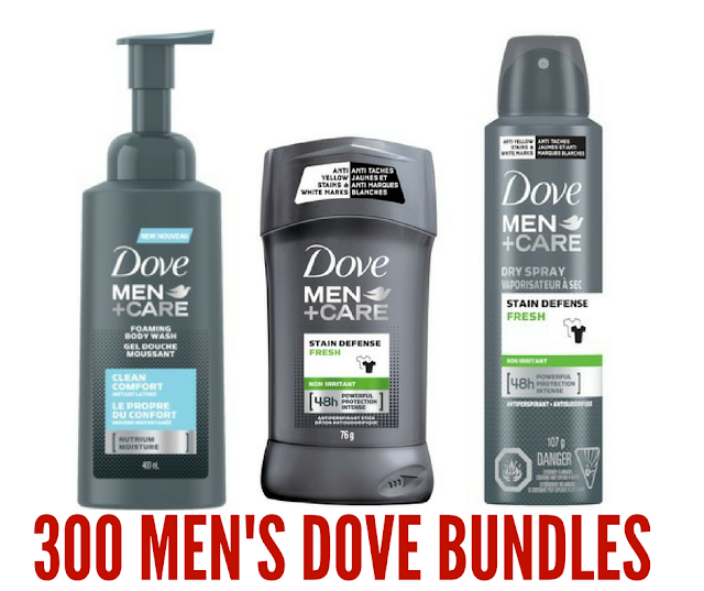 Canadian Men Try Dove Men+Care Products FREE