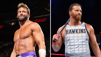WWE Tag Team Zack Ryder Curt Hawkins Revival Raw