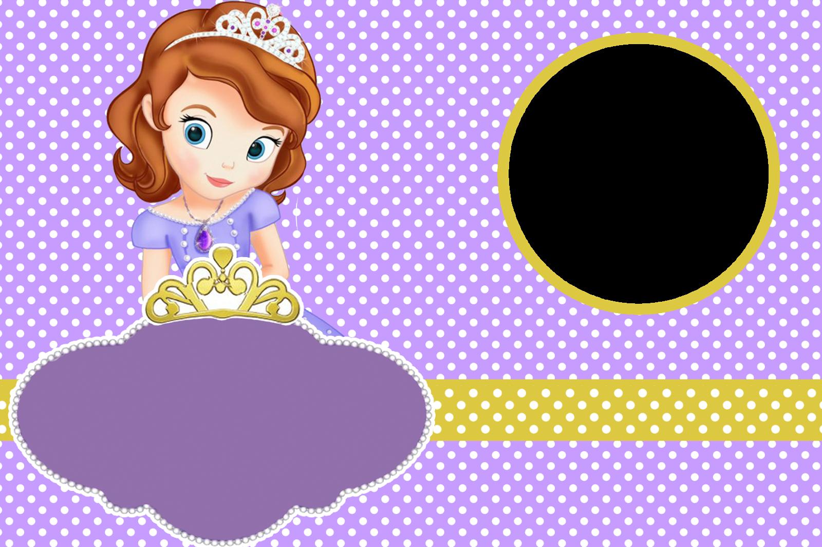 Kit Festa Princesa Sofia Disney Montando Minha Festa