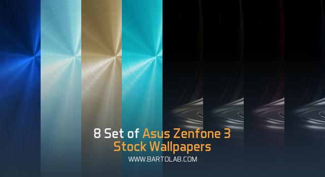 Zenfone 3 Stock Wallpapers