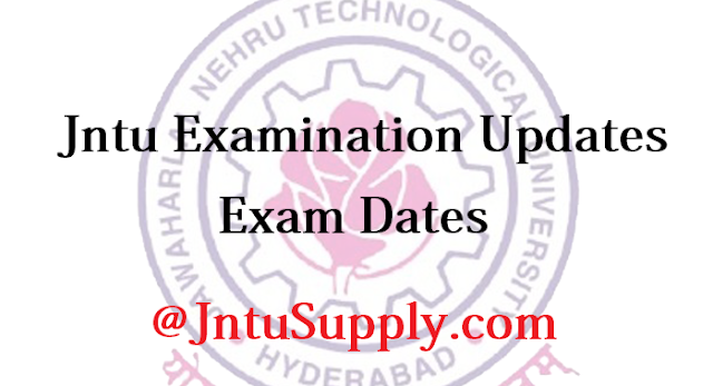 JNTU Supply Results Available now Check Updates, Examination