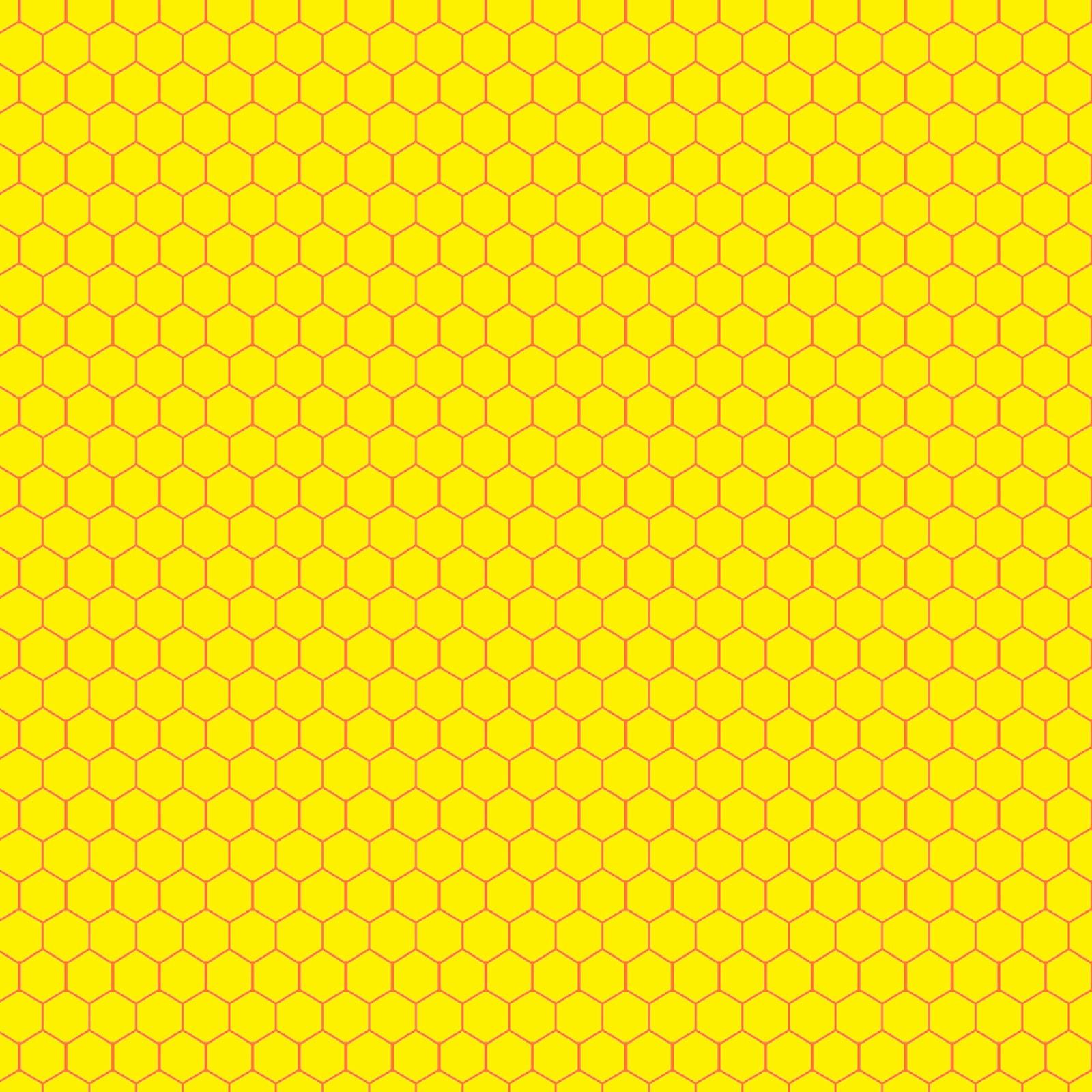 Wallpaper yellow black honeycomb hexagon beehive #000000 # ... |Yellow Honeycomb Wallpaper
