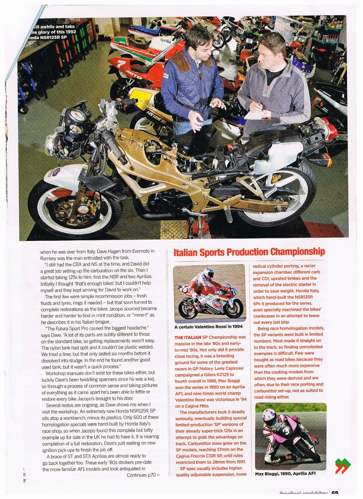 Cagiva Mito 125 Owners Blog   125 Stradali   Practical