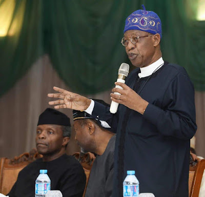 lai 1 - FG reacts to calls by Northern youths for Igbos to vacate the region on or before Oct. 1st