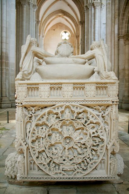 Alcobaça, tumba Pedro I