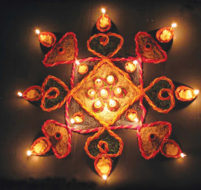 pattern of rangoli