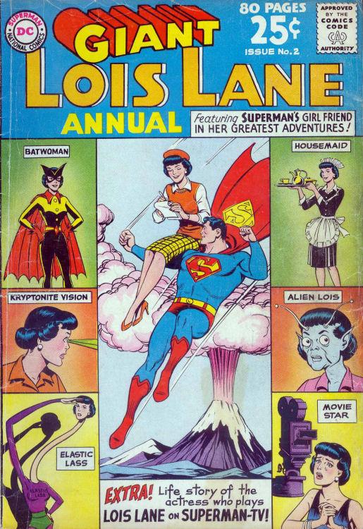Supermans Girl Friend, Lois Lane _Annual_2 Page 1