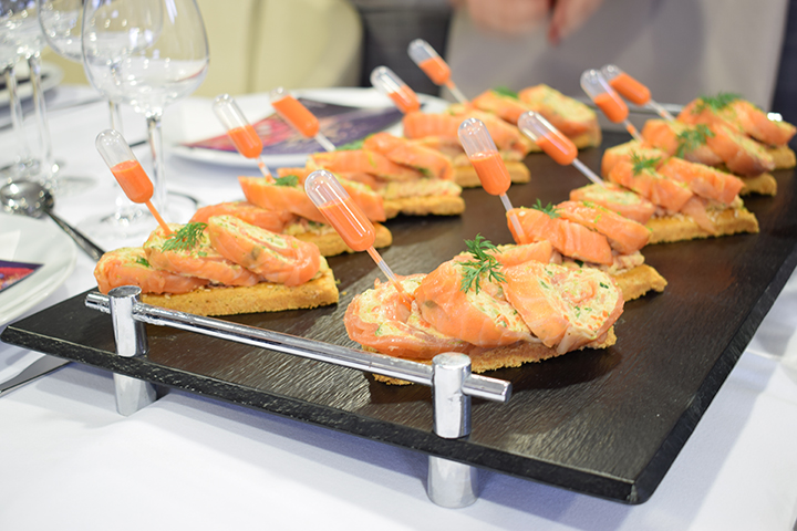 Fraîcheur de saumon Brossard Traiteur Tours