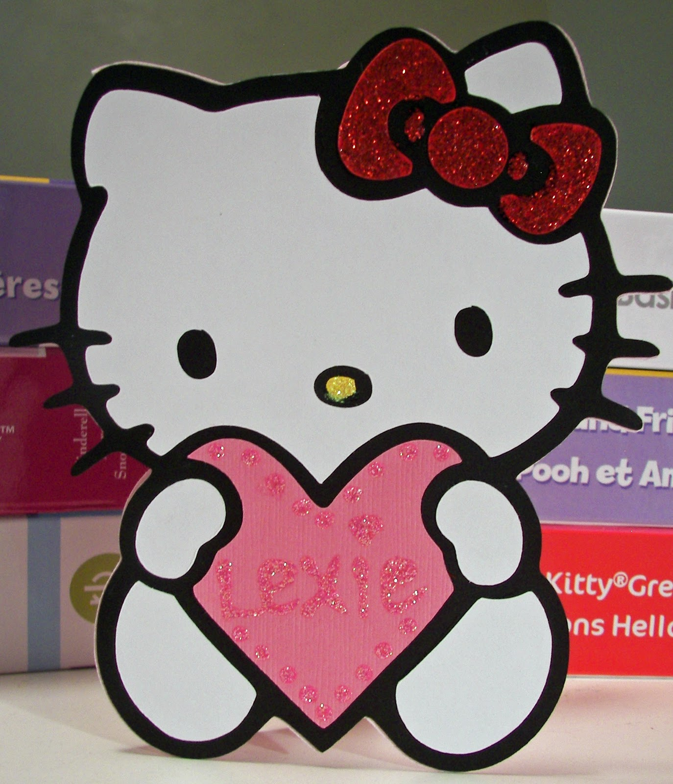 valentine s day to one of our favorite little princesses. 1374 x 1600.Free Hello Kitty Valentine's Day Cards