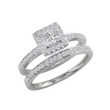 Two Golden Rings bridal sets