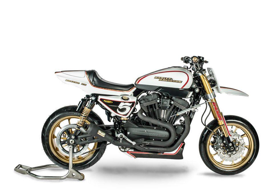 Racing Caf U00e8  Harley  U0026quot Xr 1200 Sm U0026quot  By Shaw Speed  U0026 Custom