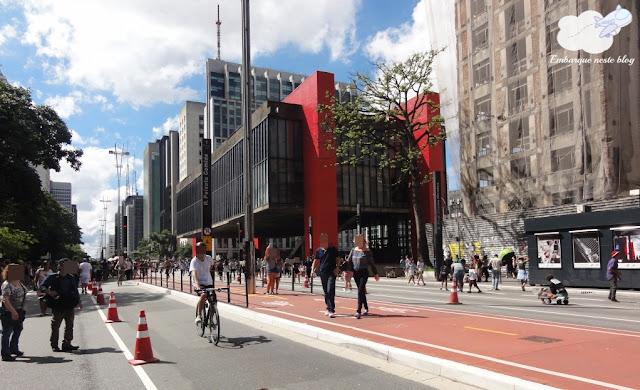 Avenida Paulista aos domingos, São Paulo