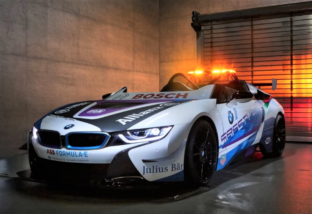 New Bmw I8 Roadster Formula E Safety Car 2019 Electric Auto Moto