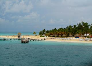Playa Norte Isla Mujeres Mexico Caribbean Riviera Maya