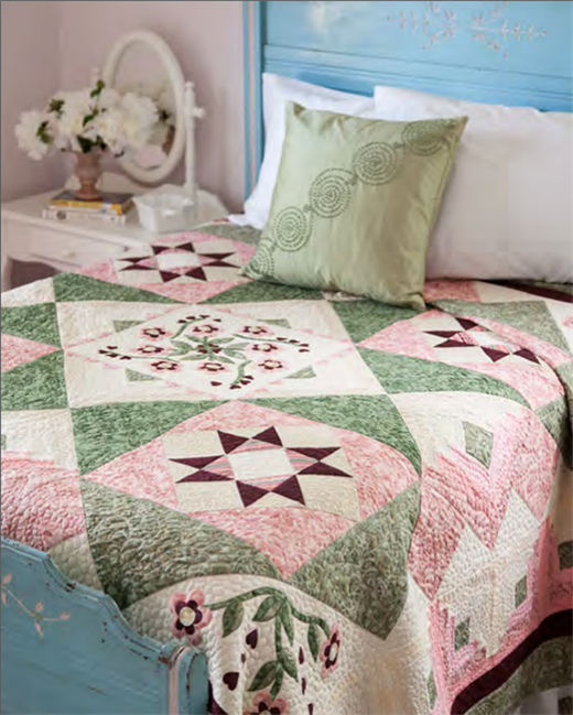 My Green Home Quilt Free Pattern