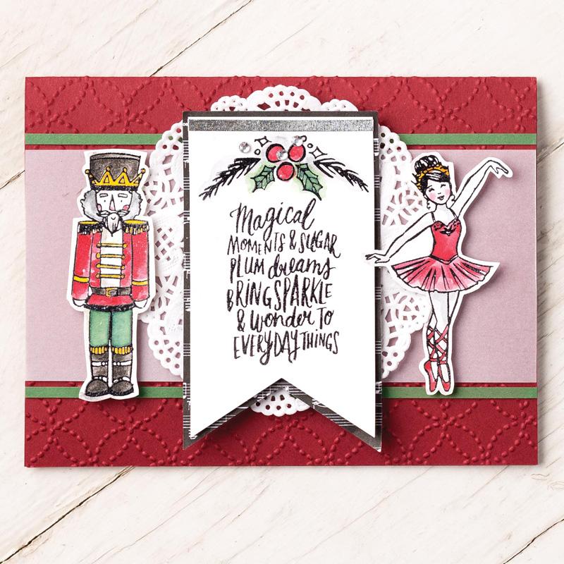 Sugarplum Dreams Nutcracker Christmas Cards | Julie\'s Stamping Spot ...