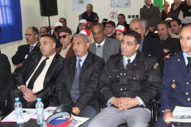 الأسبوع الوطني للسلامة الطرقية بنيابة مولاي يعقوب