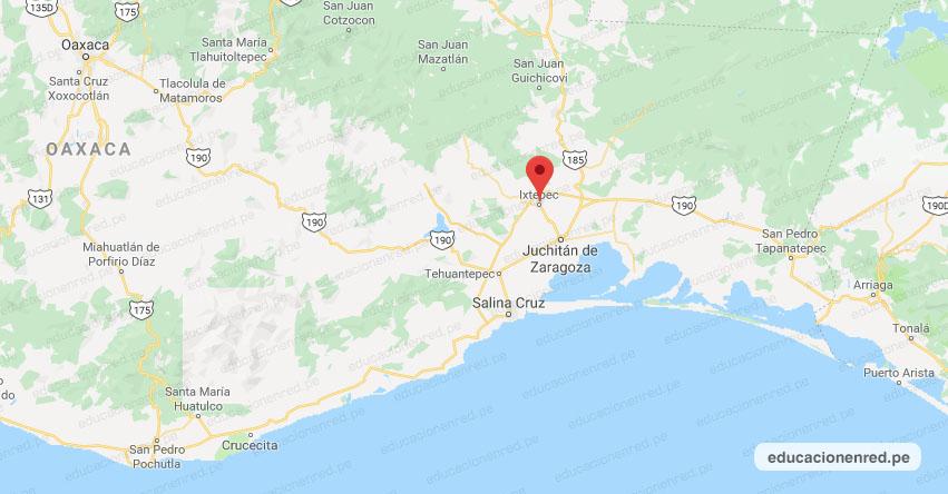Temblor en México de Magnitud 4.0 (Hoy Viernes 17 Julio 2020) Sismo - Epicentro - Ixtepec - Oaxaca - OAX. - SSN - www.ssn.unam.mx