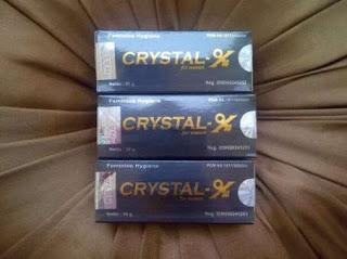 jual crystal x di jakarta