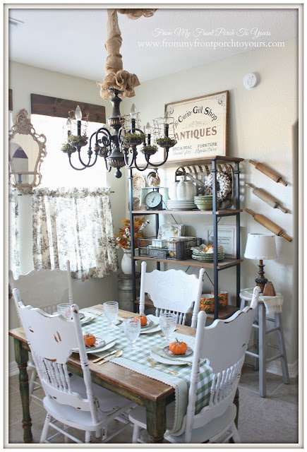 Farmhouse Style- Fall Kitchen--From My Front Porch To Yours
