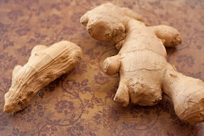 Worn out versus fresh ginger
