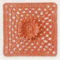 Patrón #864: Granny a Crochet