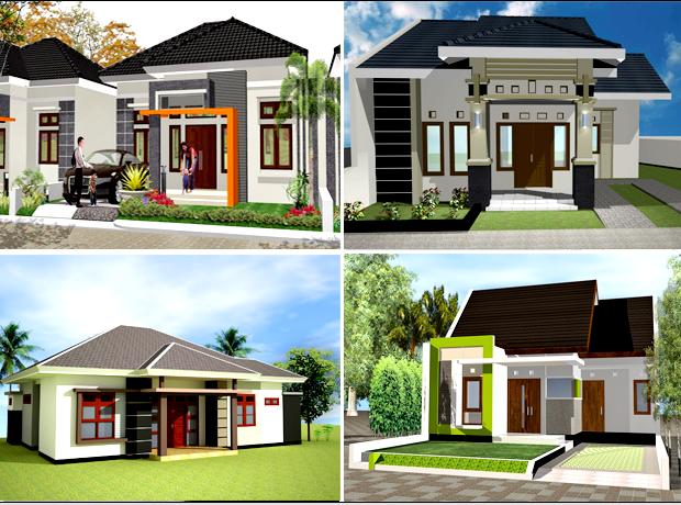 50 Model Denah Rumah Minimalis Type 70 Minimalis Modern 2019