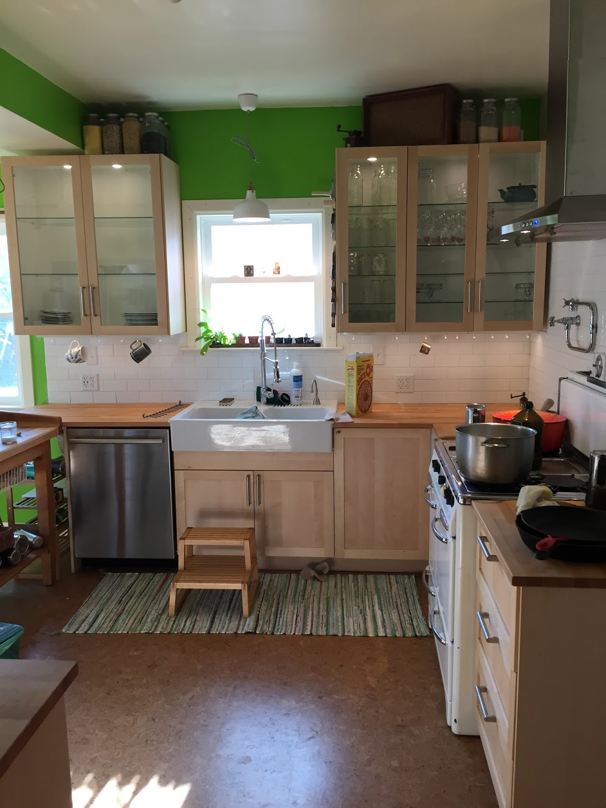 Red Kitchen Rugs