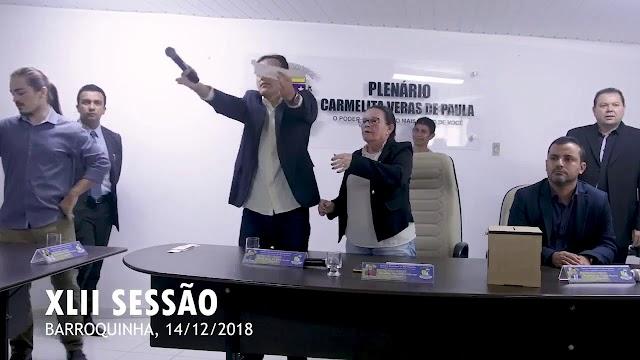"""Juiz rejeita recurso e """"Quitinha"""" segue presidente eleito da Câmara de Barroquinha/CE"""