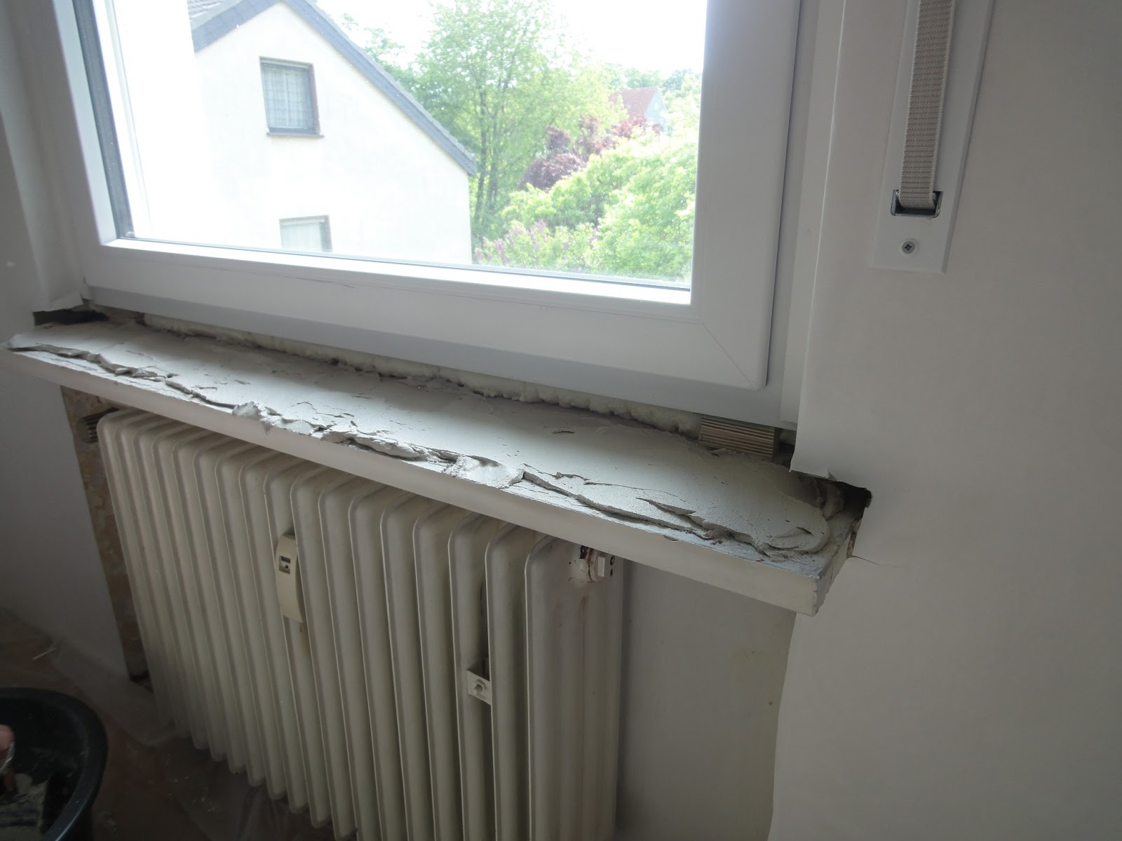 Crafts & Co.: DIY -- Fensterbänke einsetzen